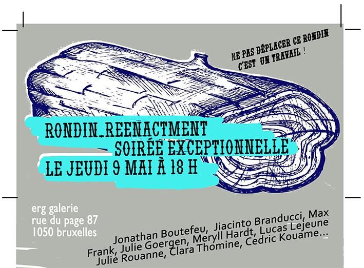 invite soirée perf rondin bd